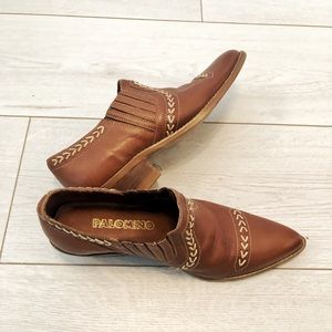 Palomino genuine leather western booties